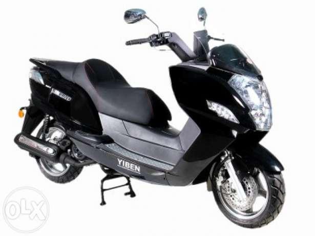 Скутеры YIBEN в сборе