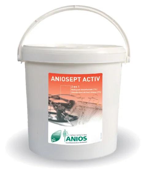 Аниосепт актив (ANIOS Aniosept activ) - засіб для дезінфекції та стерилізації інструментів, 1 кг