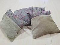 Комплект подушек Беж с сирен цветками, 4шт, фото 1