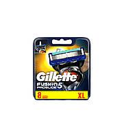 Сменные кассеты для мужской бритвы Gillette Fusion5 ProGlide, 8 шт