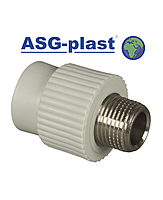 Муфта ппр 25х3/4 РН ASG-Plast (Чехия)