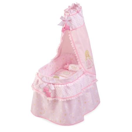 Кроватка люлька 51028 для куклы игрушечная decuevas