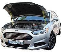 Газовый упор капота (амортизатор капота) для Ford Fusion 2 / Форд Фьюжен 2 (2012+) железный капот