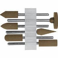 Насадки резиновые полировальные средней зернистости В наборе ― 6 шт.FIT 36922. Киев.
