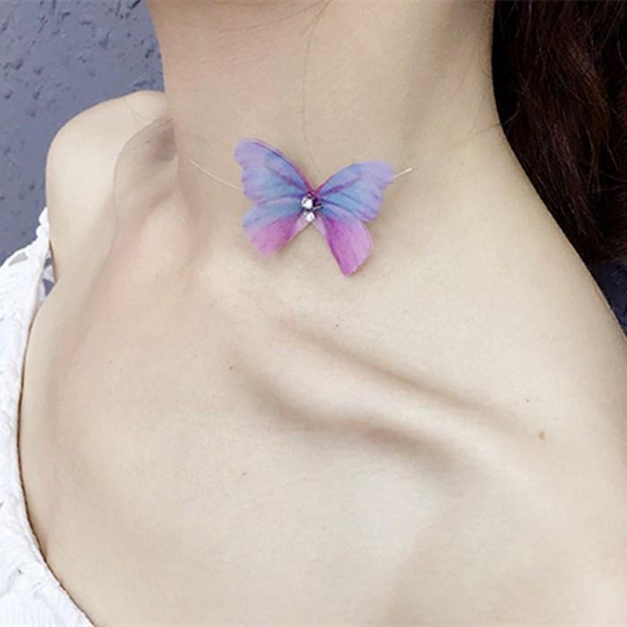 "Чокер ""Graceful Butterfly"", разные виды"