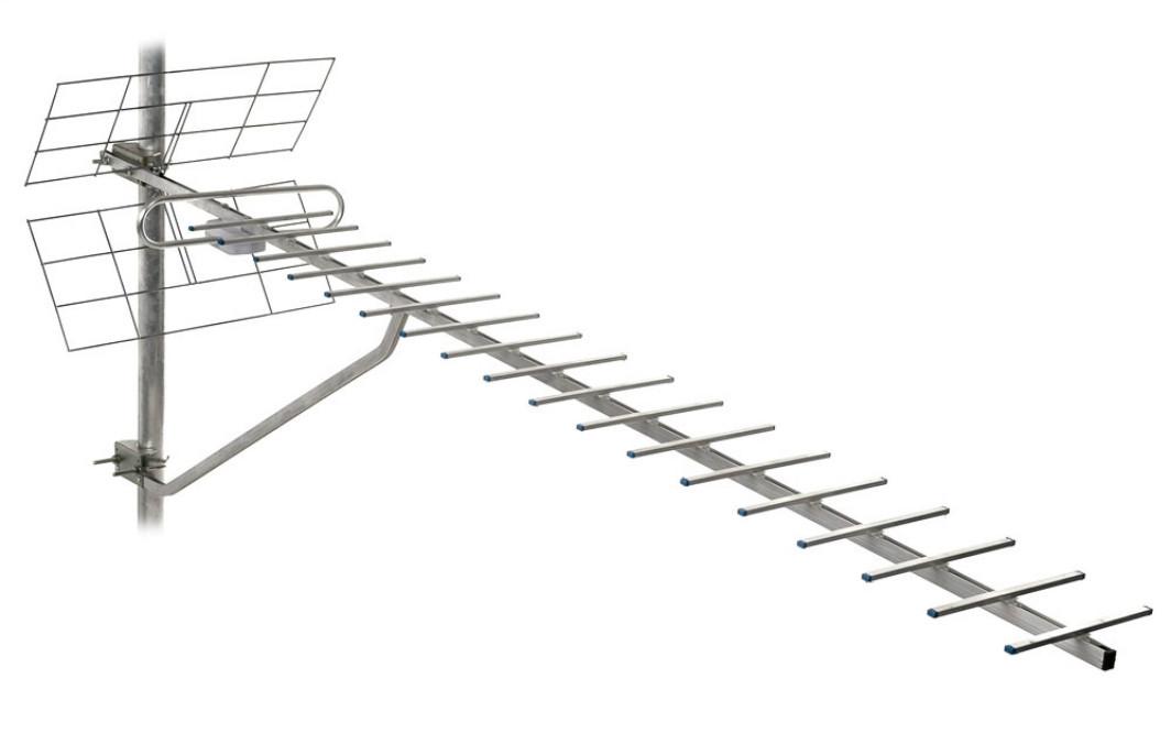 ТВ-антена Т2 Energy 1,5 м з підсилювачем