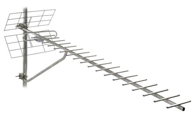 ТВ-антена Т2 Energy 1,5 м з підсилювачем, фото 2