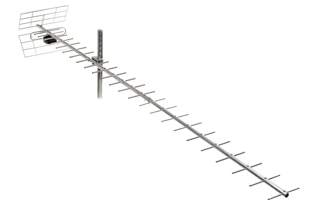 ТВ-антена Т2 Energy 2,5 м - 19 Дб