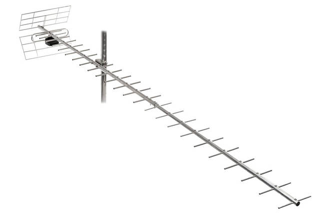ТВ-антена Т2 Energy 2,5 м - 19 Дб, фото 2