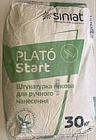 Стартова штукатурка PLATÓ START 30 кг, штукатурка стартовая PLATÓ START гипсовая 30 кг, в Днепре