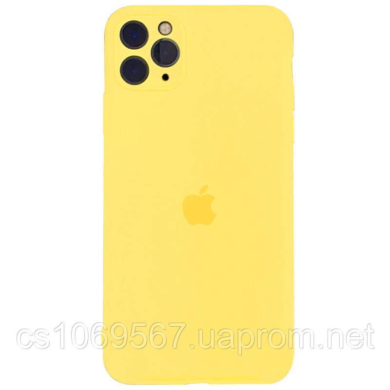 "Чехол Slim Silicone case full protective для Apple iPhone 11 Pro Max (6.5"")"