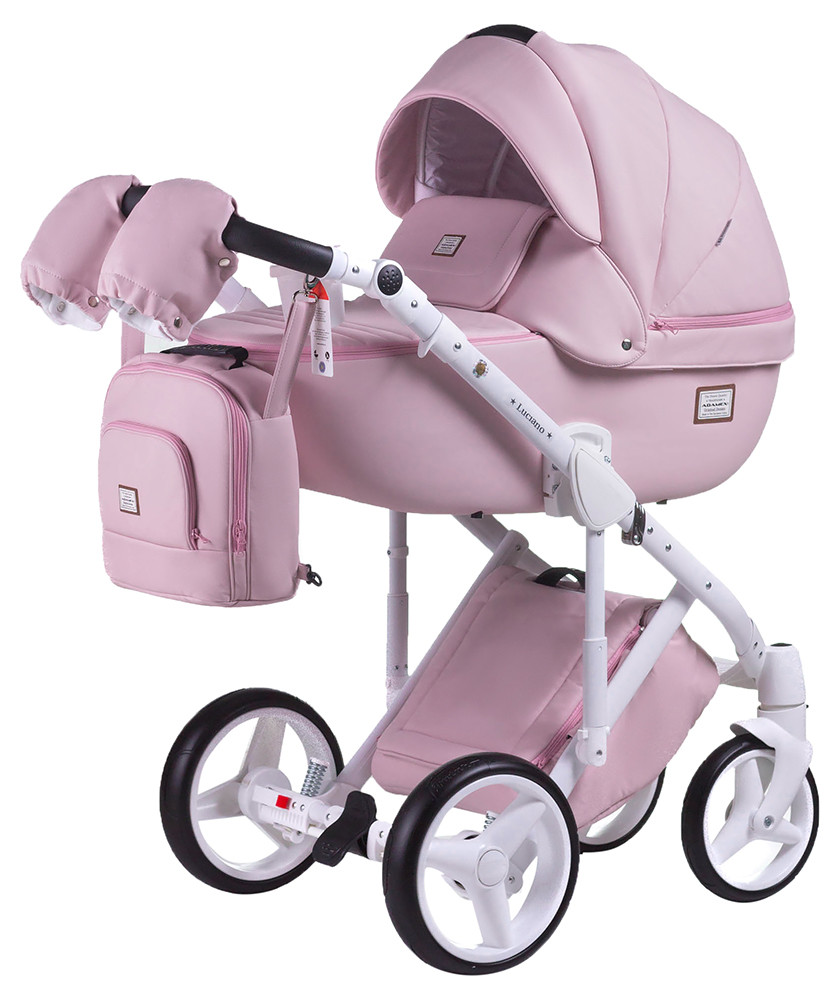 Универсальная детская коляска 2в1 Adamex Luciano Delux Q-110