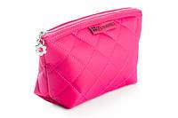 Косметичка стёганая, цвет малиновый Pink BH Cosmetics Оригинал