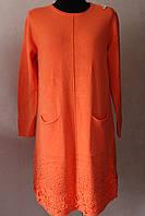 Плаття жіноче з кружевним низом