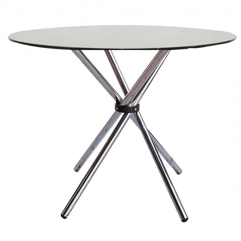 Круглый стол Тог стекло от SDM Group, D90 см