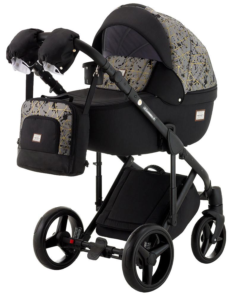 Универсальная детская коляска  2в1  Adamex Lucianо CR502/CZ