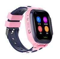 Дитячий смарт годинник Y95 pink 4G Відеозв'язок (GPS)