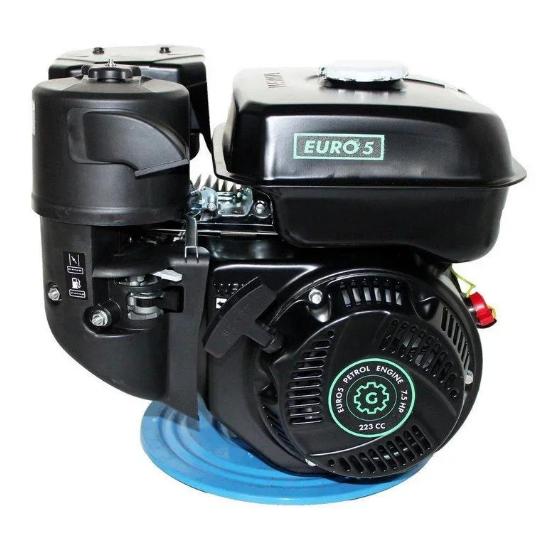 Двигун бензиновий GrunWelt GW230-T/20 Євро 5 (шліц, вал 20 мм, 7.5 л. с.)