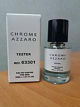 Мужская туалетная вода Azzaro Chrome (Аззаро Хром) тестер 30 мл (реплика)