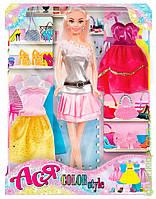 "Кукла с аксессуарами   "" Яркий в моде '' ( блондинка 28см)"