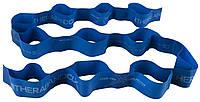 Еспандер стрічка з петлями 2,08 м CLX Thera-Band синій T 36