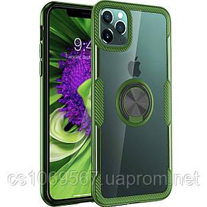 """TPU+PC чехол Deen CrystalRing под магнитный держатель для Apple iPhone 11 Pro Max (6.5"""")"""