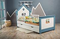 Детская кровать односпальная Инст 1122