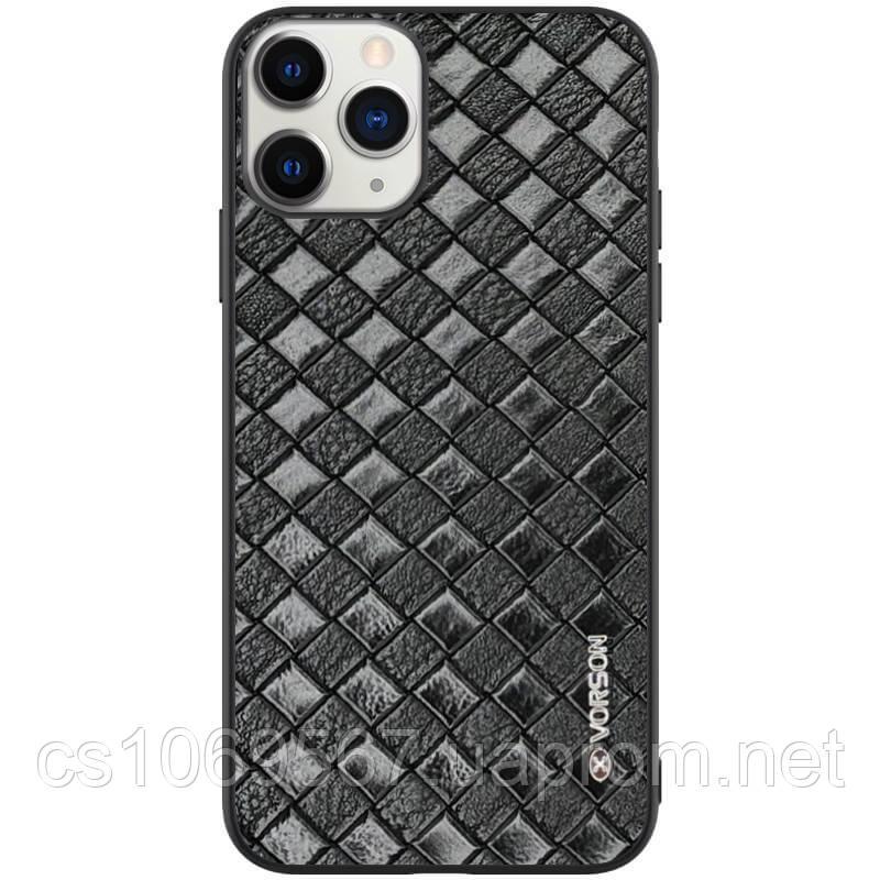 """Кожаная накладка VORSON Braided leather series для Apple iPhone 11 Pro (5.8"""")"""