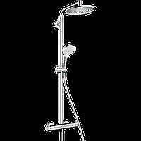 Душова система Hansgrohe  Crometta S Showerpipe1jet з термостатом верхній душ 240 мм 🇩🇪