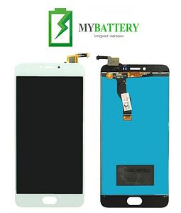 Дисплей (LCD) Meizu M3 Note (L681h) с сенсором белый