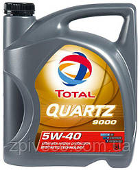Моторное масло QUARTZ 9000 5W40 5л