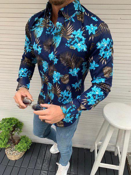Мужская стильная рубашка, Турция (8 моделей)