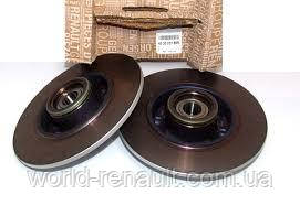 Renault (Original) 432002188R - Комплект задних тормозных дисков на Рено Меган 3 (универсал)
