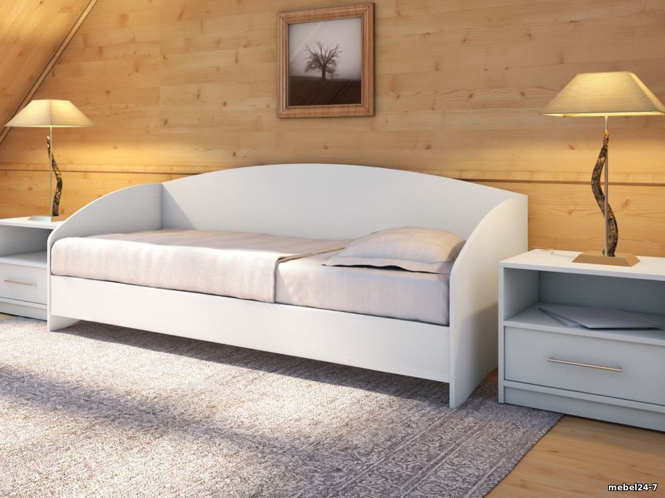 Детская кровать диван  односпальная  КЕТ 10