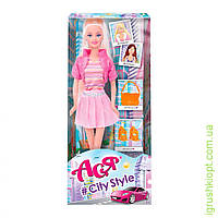 """Кукла с аксессуарами   """"Стиль большого города  ''   ( блондинка 28см)"""