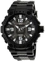 Q&Q GW82J чорні чоловічі класичні годинник, фото 1