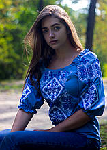 Блуза вишита