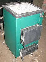 Твердотопливный котел для дома с варочной поверхностью Максим 12-КД