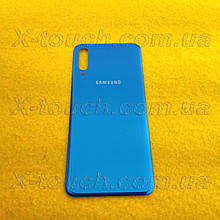 Samsung Galaxy A50 задня кришка для телефону, блакитного кольору.