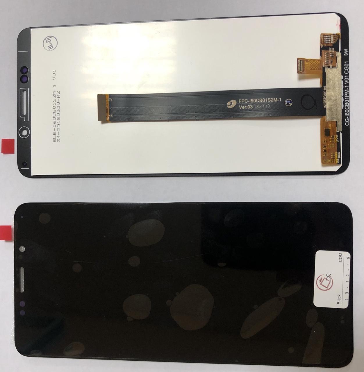 Дисплей модуль для TP-Link Neffos C9 TP707A в зборі з тачскріном, чорний