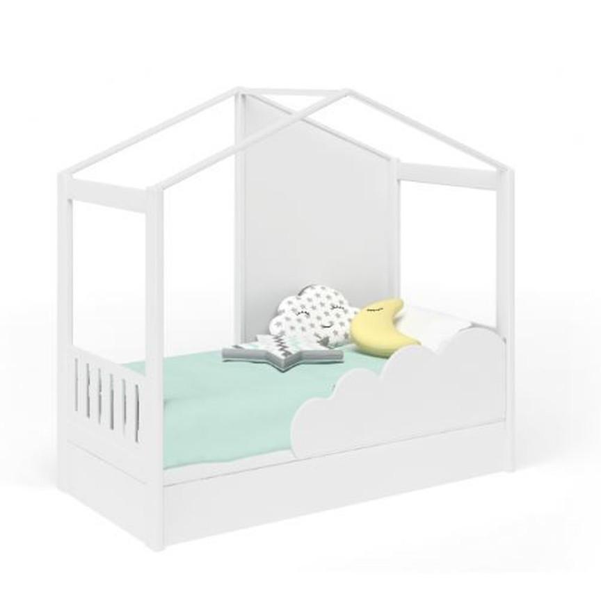 Детская полуторная кроватка домик Инст 78