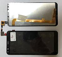 Дисплей модуль для TP-Link Neffos C5 Plus TP7031A в зборі з тачскріном, чорний