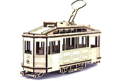 Конструктор Львівський Трамвай Sanok SW 1 151 деталь