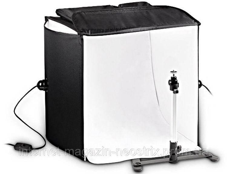 Фотобокс для предметной фотосъемки с подсветкой Massa (60x60x60 см)