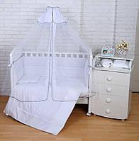"""Детский постельный комплект Veres """"White Ivy"""" 7 единиц, фото 1"""