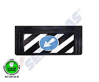 Брызговик резиновый на прицеп | SERTPLAST DM990139