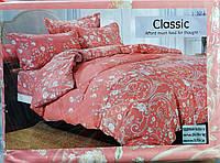 Комплект постельного белья двуспальный сатин-байка Classic сатин (F-682)