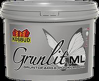 Грунт-краска для внутренних работ KOSBUD, GRUNLIT-ML, банка 5 л