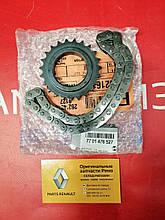 Комплект цепи привода масляного насоса Renault Koleos 2.0 dCi M9R (Original 7701476527)