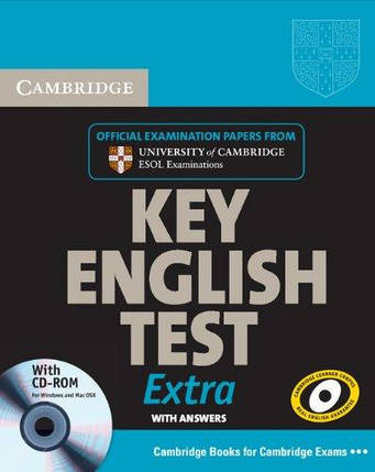 Cambridge Key English Test Extra Student's Book with Answers and CD-ROM, фото 2